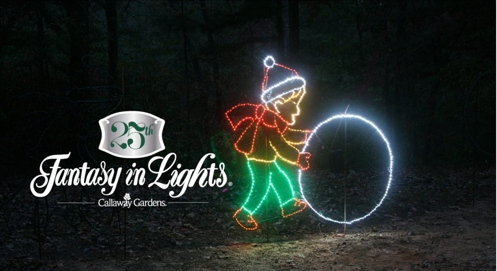 Montgomery Zoo Christmas Lights