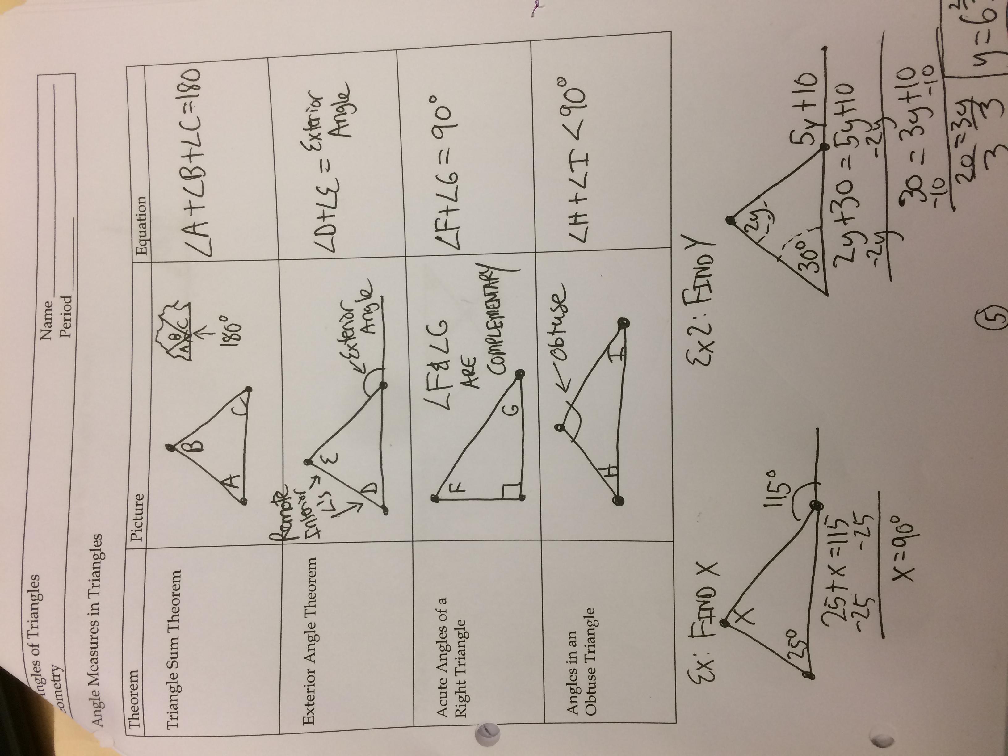 Classnotes Class 9 Notes Maths Congruent Triangles