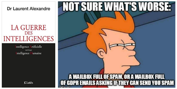 ¿Otro e-mail RGPD más? O de las torpezas humanas en los tiempos de la inteligencia artificial.