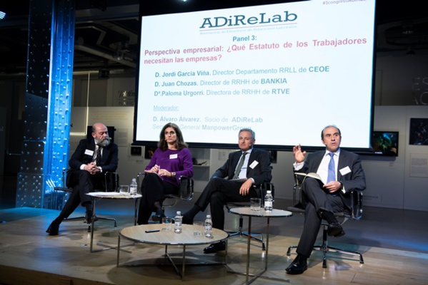 III Congreso ADiReLab.Hacia un nuevo Estatuto de los Trabajadores del Siglo XXI. (Segunda Parte)