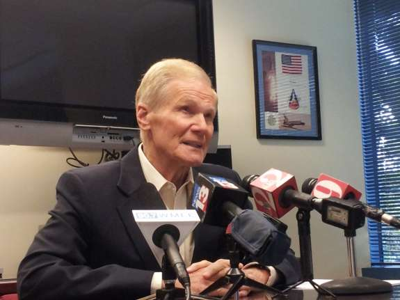 Sen. Bill Nelson. Photo: Matthew Peddie, WMFE