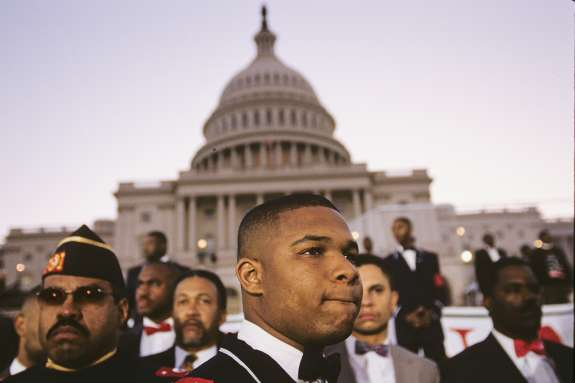 The Million Man March drew hundreds of thousands of black men to the National Mall in 1995. Photo: Brian Palmer.