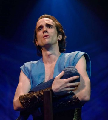 John P. Keller stars in Orlando Shakespeare Theater's production of The Adventures of Pericles. Photo by Tony Firriolo.