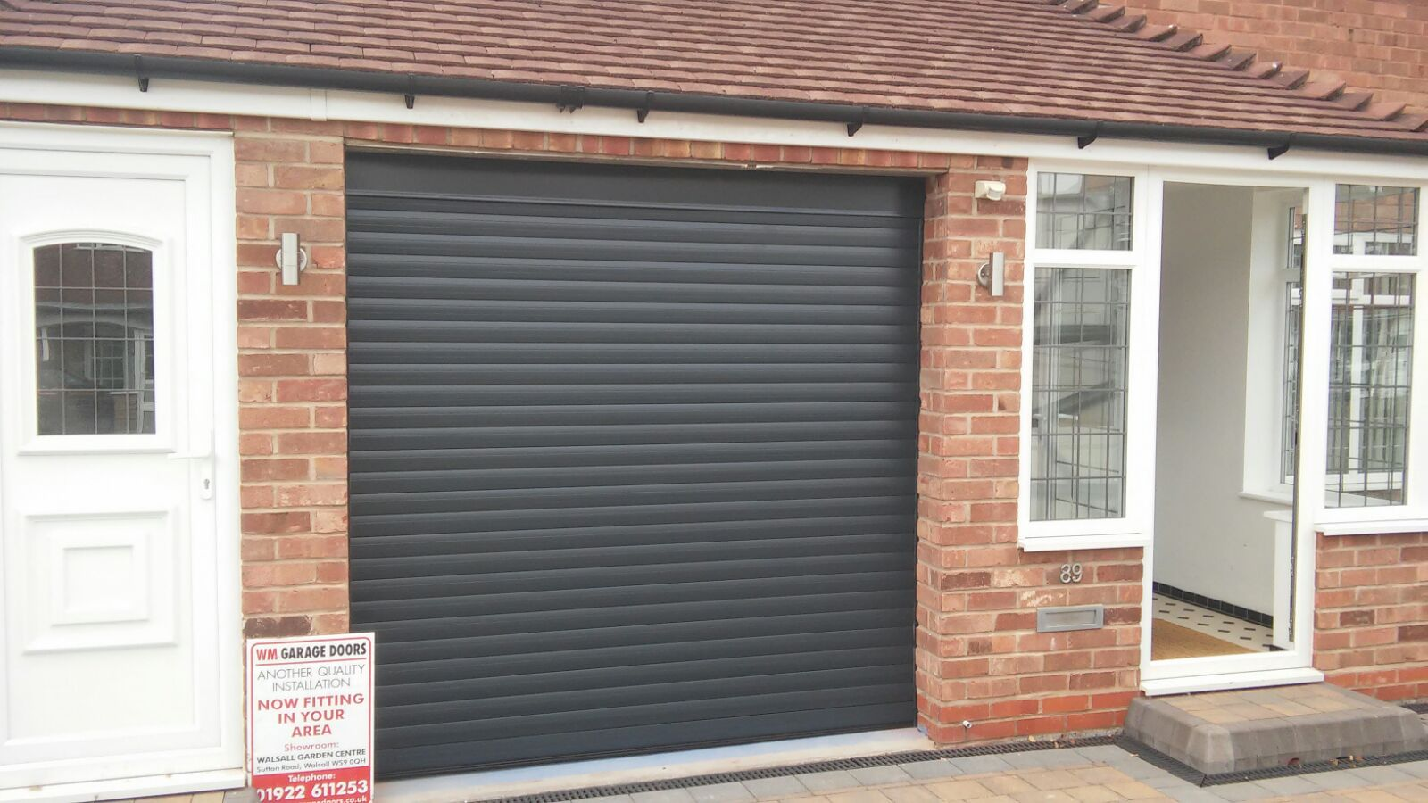 Electric Garage Doors Supplier Installers From Only 850