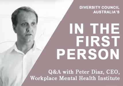 Peter Diaz QA with Diversity Council Australia