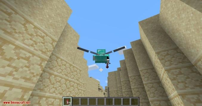 Curious Elytra mod for minecraft 06