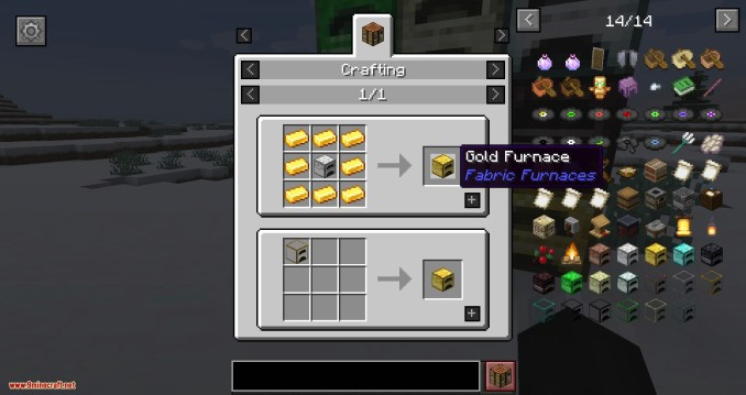 Fabric Furnace mod for minecraft 05