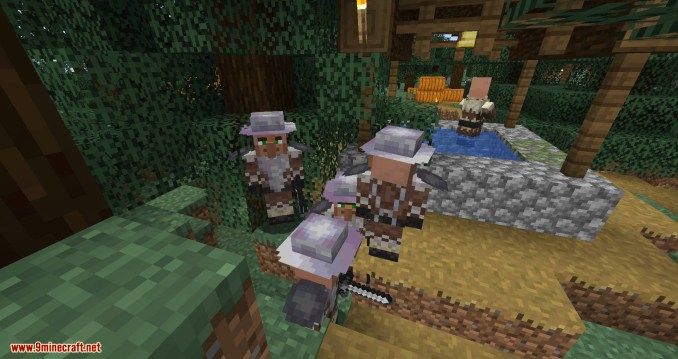 Guard Villagers mod for minecraft 07