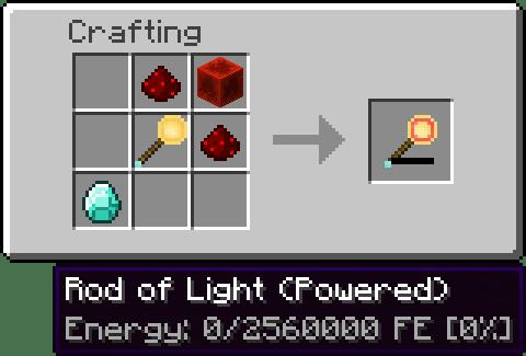 InvisibLights Mod Crafting Recipes 2