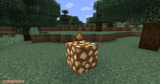 Lamp Block mod for minecraft 01