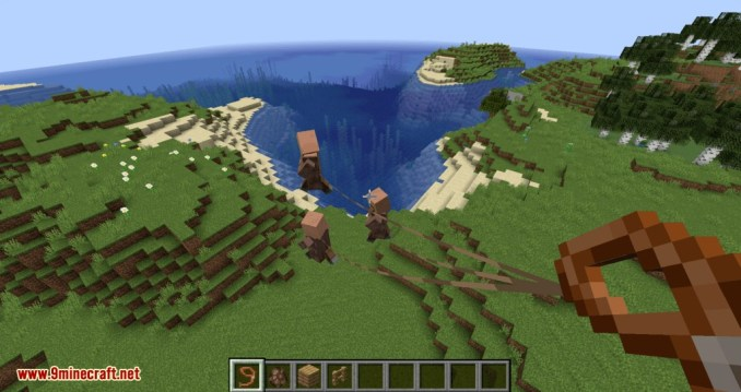 Lead Villagers mod for minecraft 11