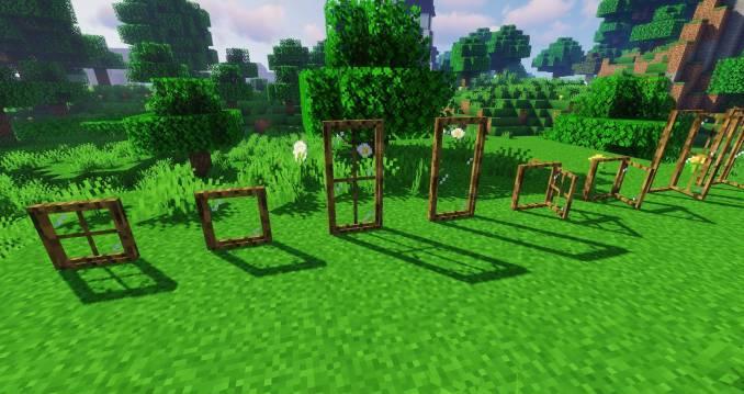 Macaw_s Windows mod for minecraft 25