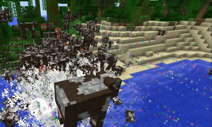Nyan Cow mod for minecraft 09