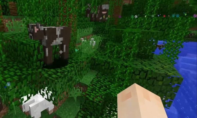 Nyan Cow mod for minecraft 01