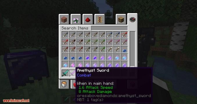 Ores Above Diamonds mod for minecraft 06