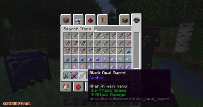 Ores Above Diamonds mod for minecraft 07