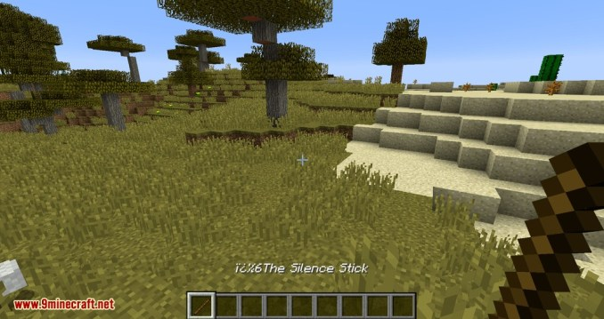 Silence Mobs mod for minecraft 04