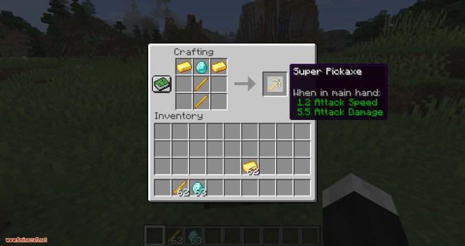 Super Tools mod for minecraft 09