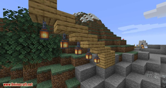 Torch Slabs Mod for minecraft 07