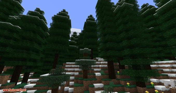 Traverse Legacy Continued mod for minecraft 01