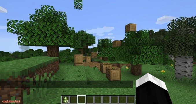 Trees Do Not Float mod for minecraft 09