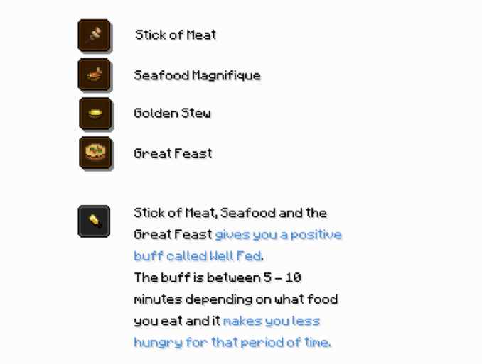 Well Fed mod for minecraft 13