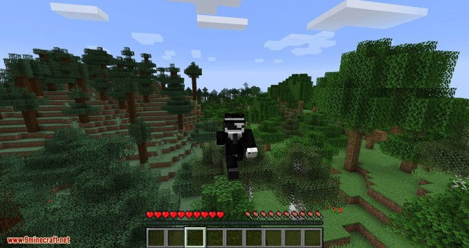 Angel Ring mod for minecraft 05