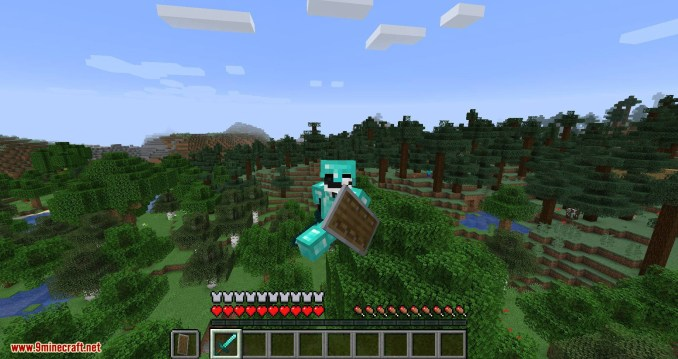 Angel Ring mod for minecraft 08