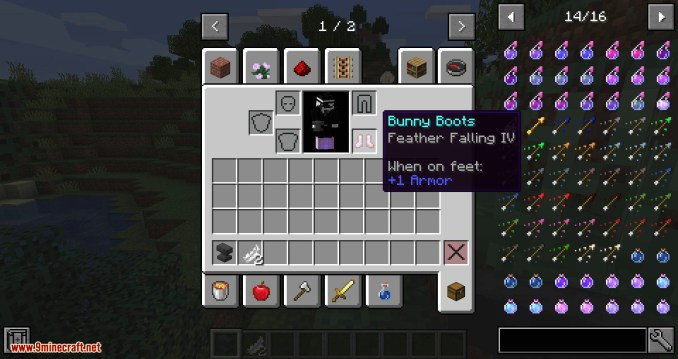 Bunny Boots mod for minecraft 08