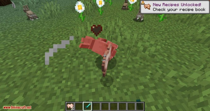 Bunny Boots mod for minecraft 10