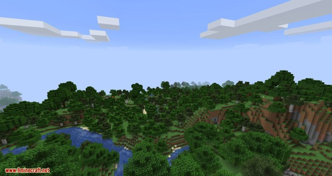 Clear Skies mod for minecraft 04