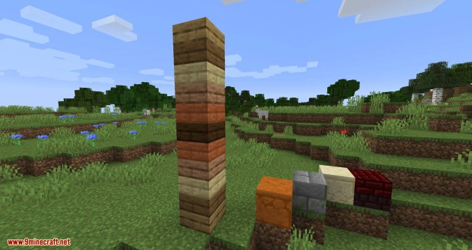 Double Slabs mod for minecraft 10