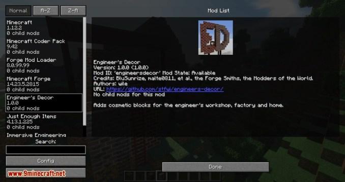 Engineer_s Decor mod for minecraft 09