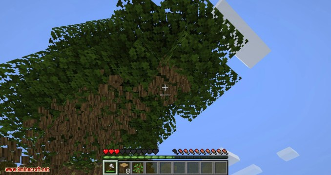Falling Tree mod for minecraft 06