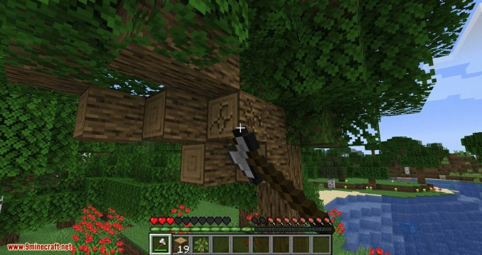 Falling Tree mod for minecraft 09