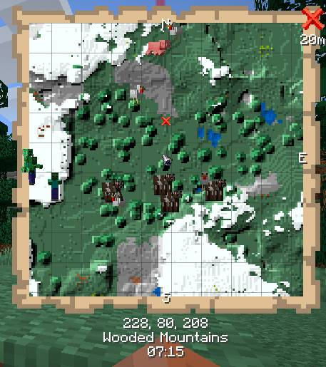 Just Map mod for minecraft 26
