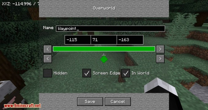 Just Map mod for minecraft 02