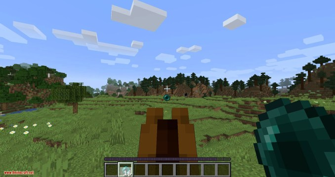 Mounted Pearl mod for minecraft 04