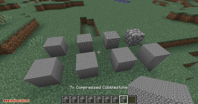 Overloaded Compressed Blocks mod for minecraft 03