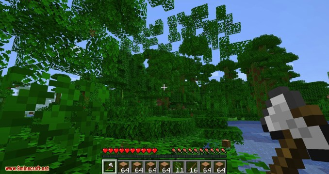 pizzaatime_s Timber Mod for minecraft 11