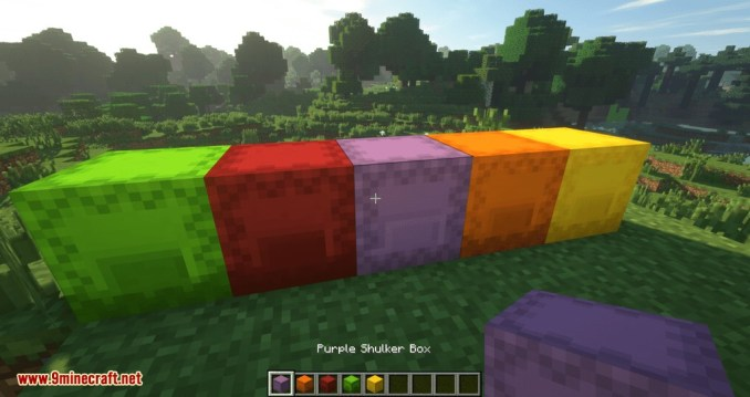 Shulker Drops Two mod for minecraft 10