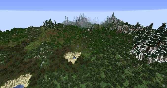 Simplex Terrain mod for minecraft 24