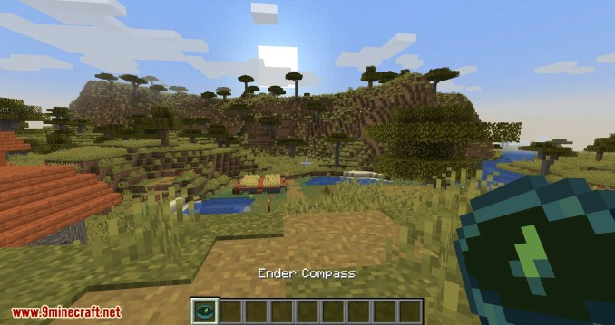 Stronghold Compass mod for minecraft 02