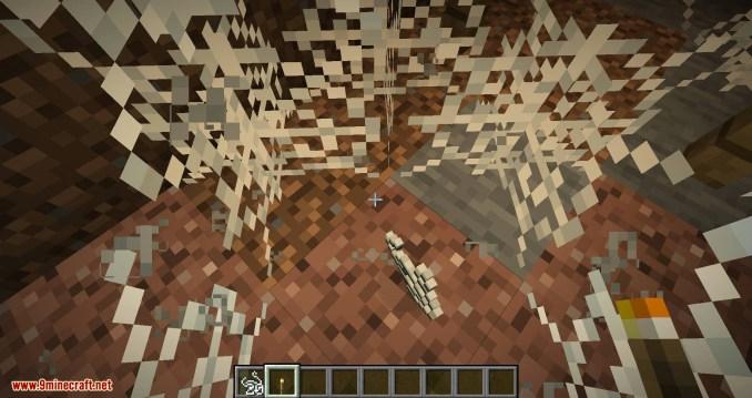 Weaker Spiderwebs mod for minecraft 06