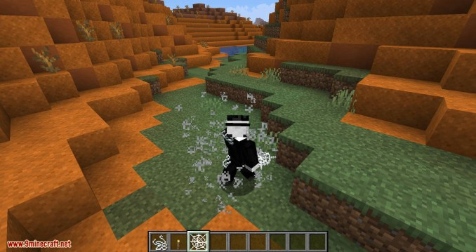 Weaker Spiderwebs mod for minecraft 10