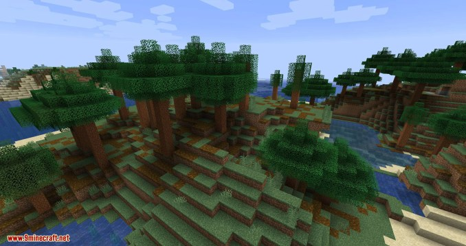 Woods and Mires mod for minecraft 03