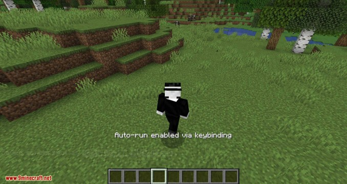 Auto Sprint Key Toggle mod for minecraft 10