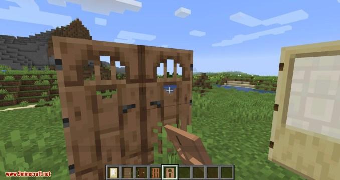 Double Doors mod for minecraft 10