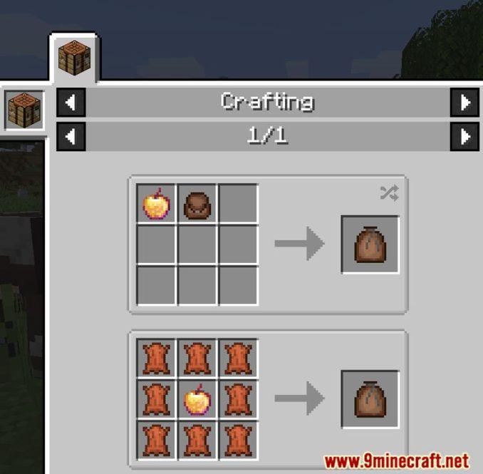 Food Pouches Mod Screenshots 12