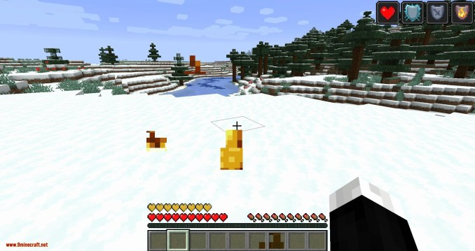 Health Overlay mod for minecraft 03